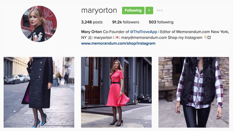 The Best Instagram Bio Ideas - Complete List of Our Favorites (Mary Orton)