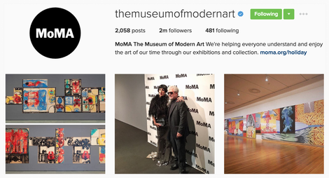 The Best Instagram Bio Ideas - Top Examples (MoMA)