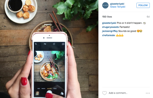 Instagram Photo Ideas - The Inception Shot