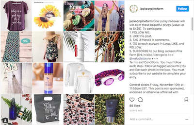 How To Do A Giveaway On Instagram… That Doesn't Suck!