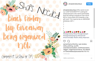 How to do instagram giveaway