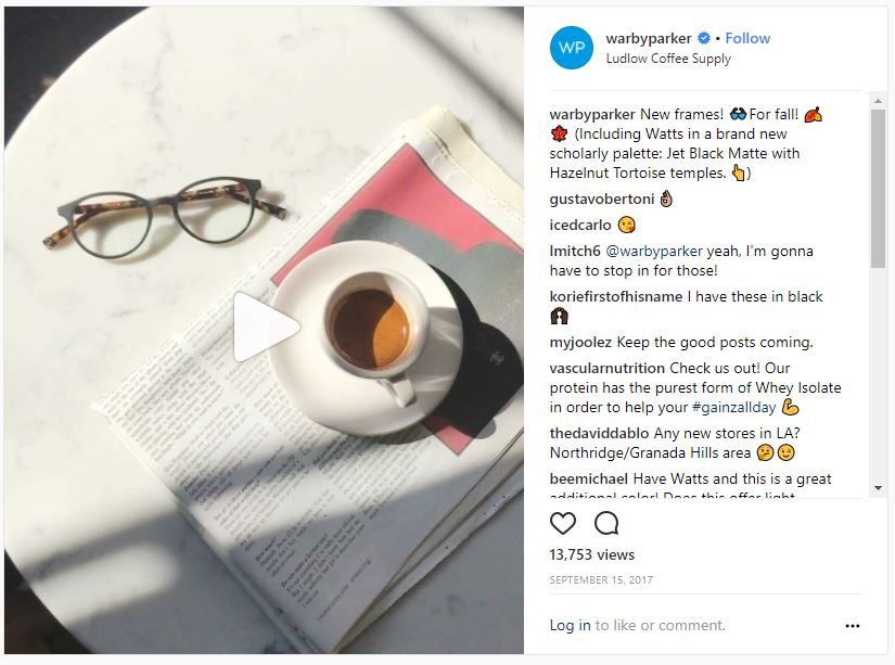 New frames Instagram marketing