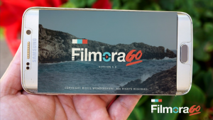 FilmoraGo smartphone app for video editing