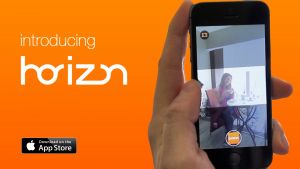 Screenshot of Horizon video app
