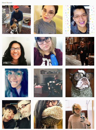 Warby Parker Instagram Feed