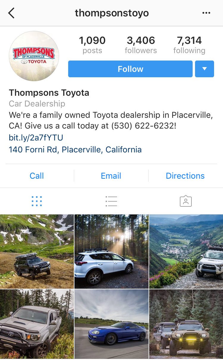 Local Car Dealers >> Instagram Marketing For Car Dealerships Tips Ideas And
