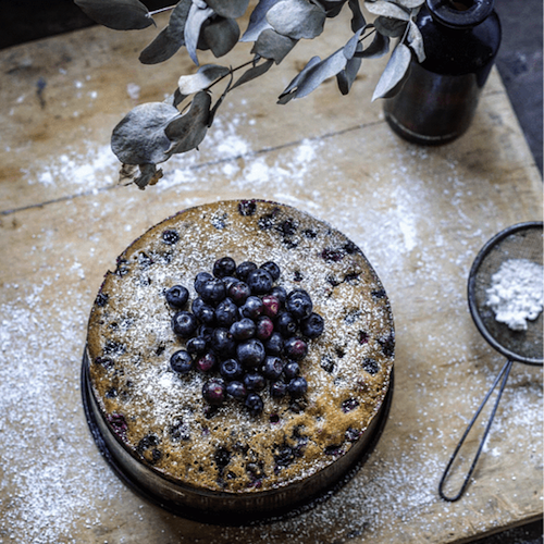Edited Blueberry Cake | Edit Instagram Pics Like a Pro | Jumper Media