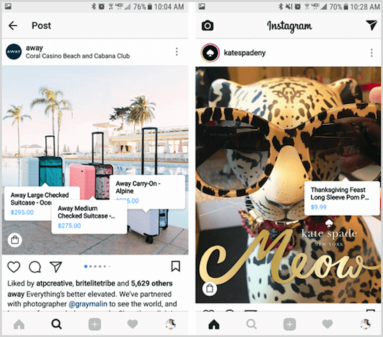 Instagram Product Tagging | Instagram Holiday | Jumper Media