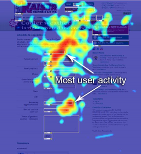 Website Heat Map Visualization | Jumper Media