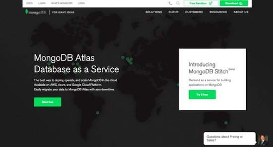 MongoDB Atlas Screenshot | Jumper Media