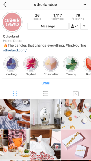 Great Instagram Stories Highlights Examples