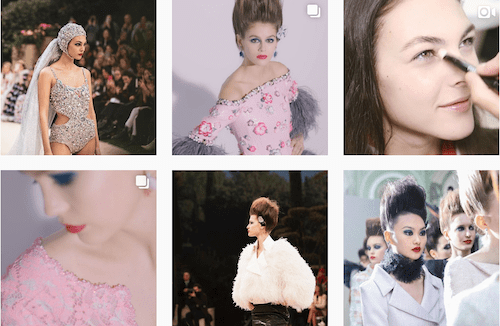 Chanel Designer Instagram Profile