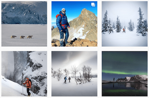 Fjallraven Instagram Outdoor Clothing