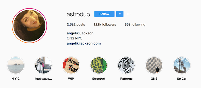@Astrodub Instagram Highlights Example