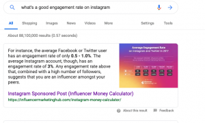 Instagram Engagement Rate Benchmarks [2019 Report]