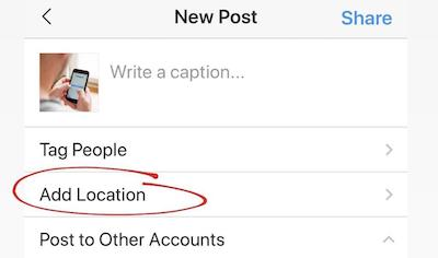 How to make your own (custom) LOCATION TAG on Instagram