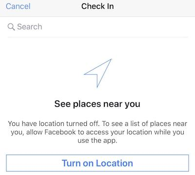 How to Enable Location Services on Facebook