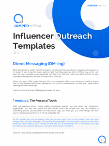influencer outreach email templates