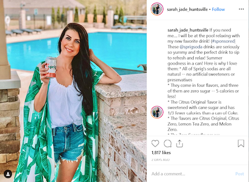 CBD Advertising with Instagram Influencers