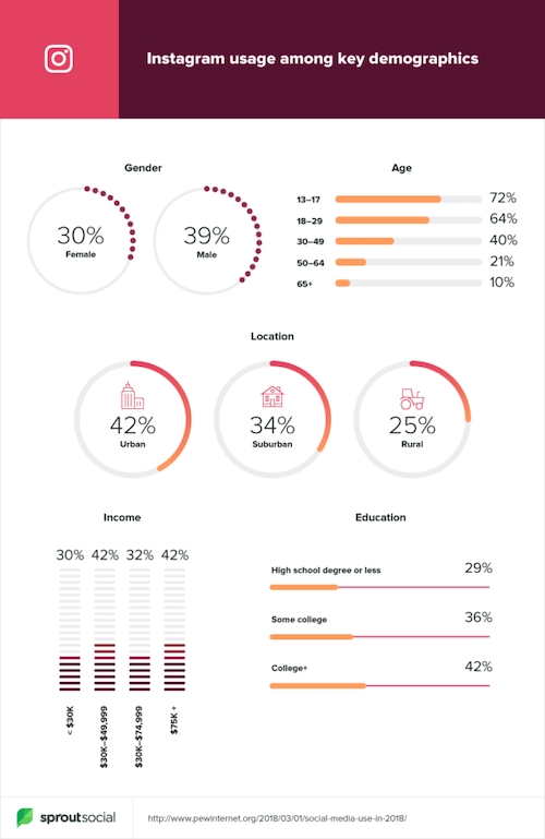 instagram demographics 13 impressive statistics about instagram users 13 Instagram Ad Stats Every Business Should Know In 2020
