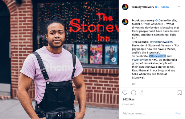 brooklyn brewery instagram marketing