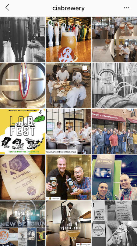 the brewery at via instagram feed