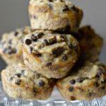 Orange Banana Chocolate Chip Muffins (Dairy & Gluten-Free)