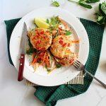 Prawn and Rice Fish Cakes (Dairy & Gluten-Free)
