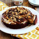 Salted Caramel Coyo Snickers Cheesecake (Vegan, Gluten-Free)