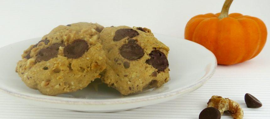 Pumpkin Chocolate Chip Cookies (Dairy & Gluten-Free)