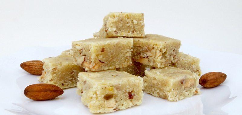 Easy Almond Fudge (Dairy & Gluten-Free)