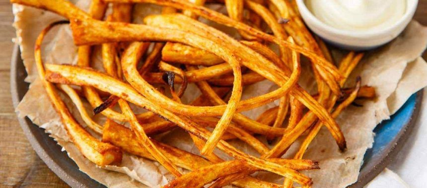 Roasted Parsnip Fries (Dairy & Gluten-Free)