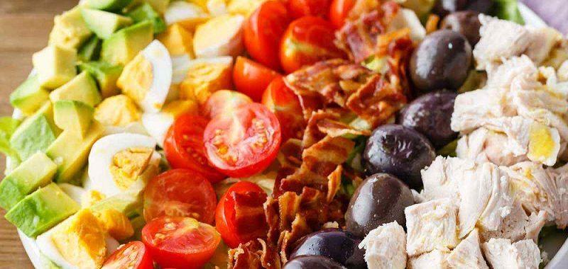 Classic Cobb Salad (Dairy & Gluten-Free)