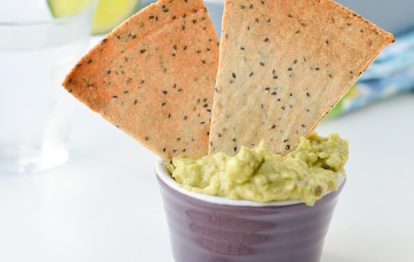 Tortilla Chips (Low-Carb, Vegan, Gluten-Free)