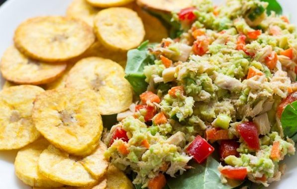 Avocado Lime Tuna Salad (Dairy & Gluten-Free)