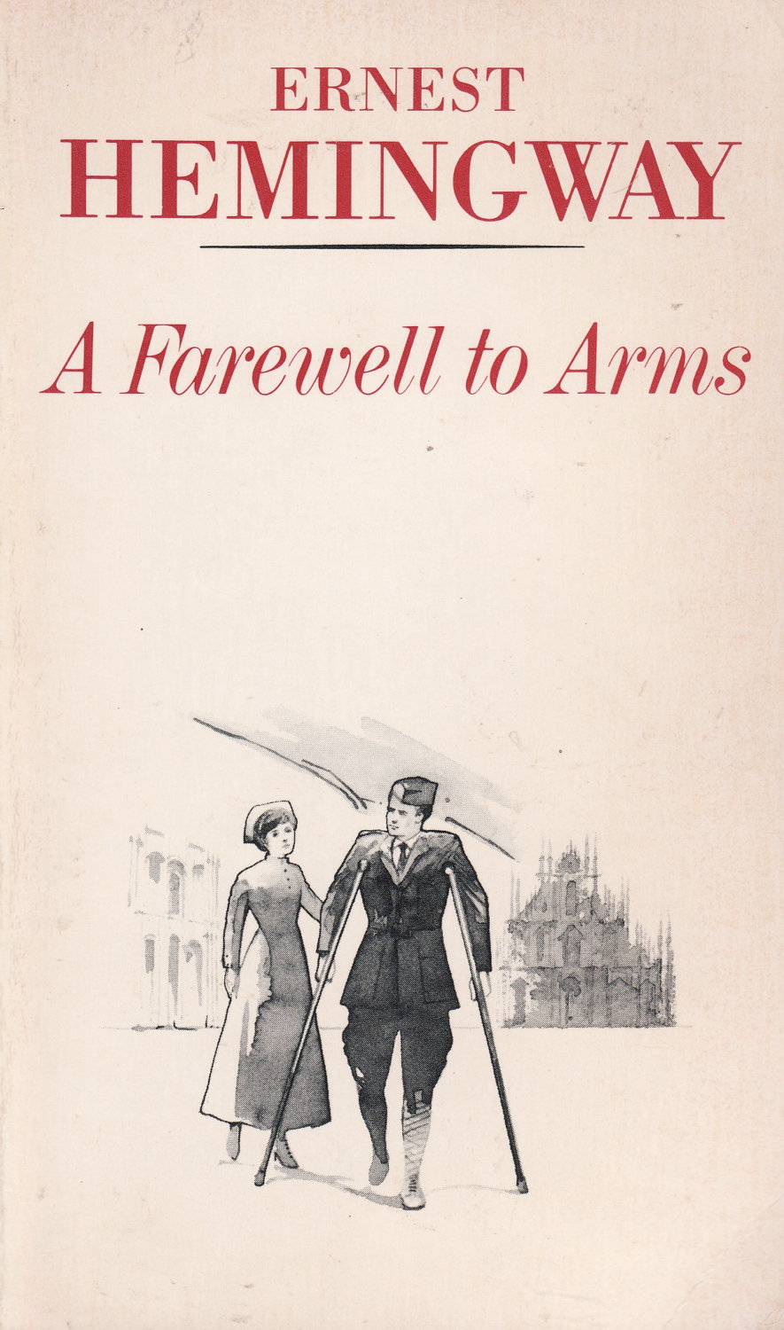 "a farewell to arms essay Throughout the novel, a farewell to arms, ernest hemingway developed a specific discipline and behavior for a true hemingway ""code hero"" although there are many characters in the novel, each one of them possessed a similar or contrasting characteristic of a ""code hero."