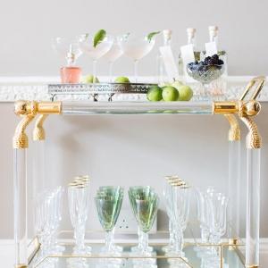 Elegant Bar Cart