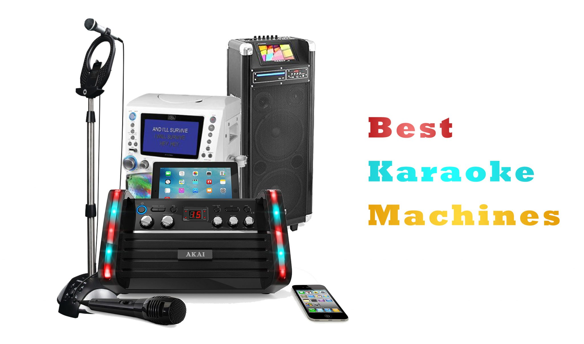 Best Karaoke Machines in 2018 with ultimate buying guide