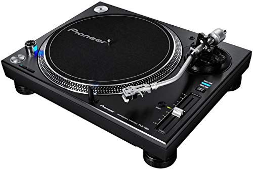 Pioneer DJ PLX-1000 High-torque Direct Drive Professional Turntable with Low-noise, High-stability Design, 3 Tempo Ranges, Professional Playback Quality and High-Torque Direct Drive System - (Pair)