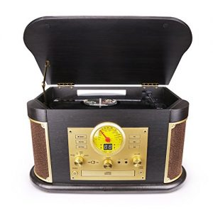 D&L Vintage Record Player Wooden