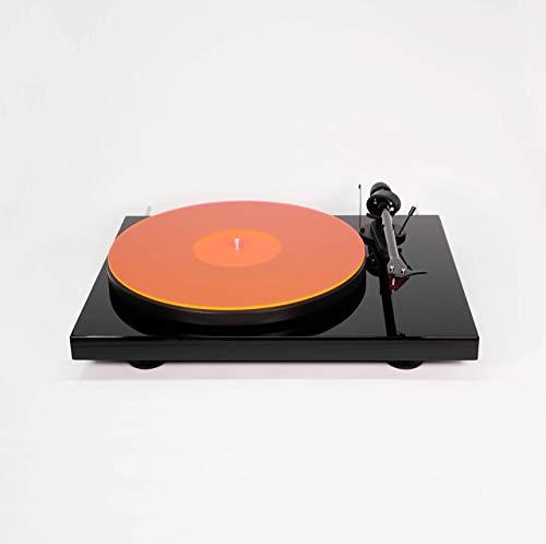Lit Acrylic Turntable Mat | LP Slipmat (OrangeLine)