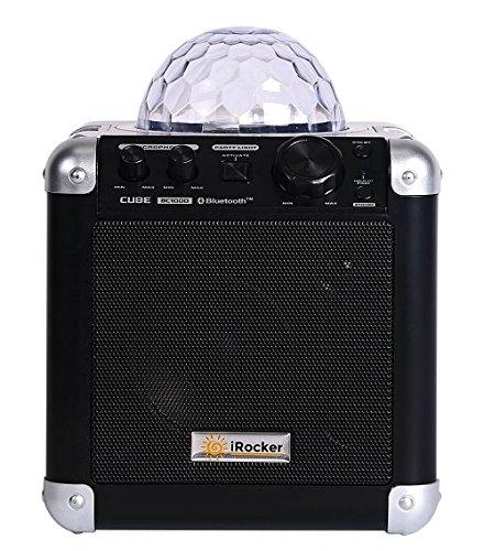iRocker BC-1000 Sing Cube Boombox Speaker