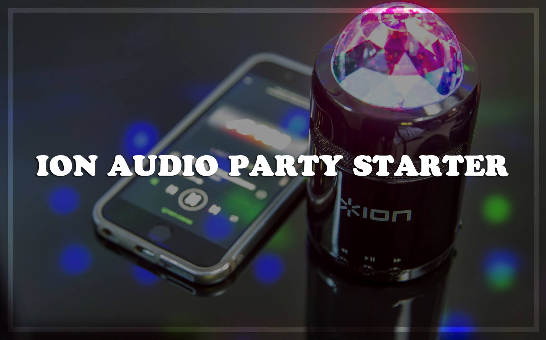 Ion Audio Party Starter Karaoke System Review