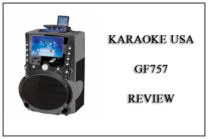 Karaoke USA GF757 Review