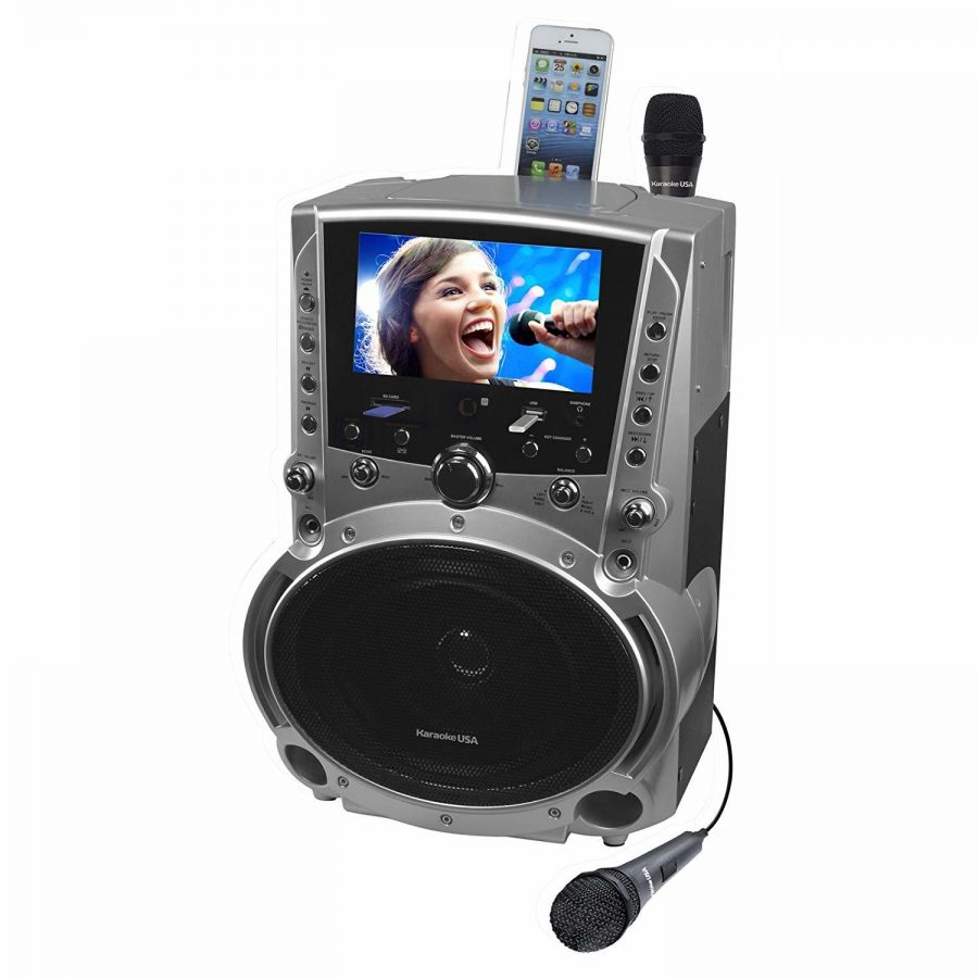 Karaoke USA GF839 Portable System