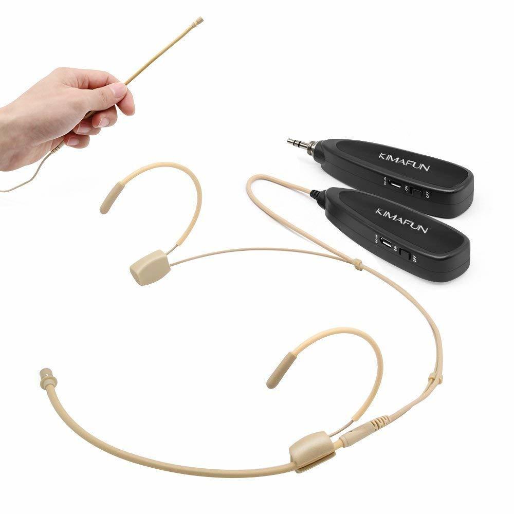KIMAFUN 2.4G Wireless Headset microphone