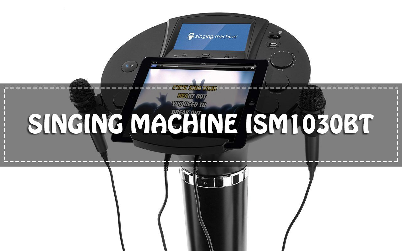 Singing Machine iSM1030BT