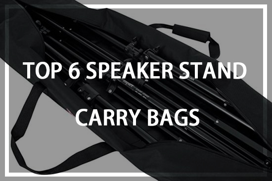 Top Speaker Stand Carry Bags