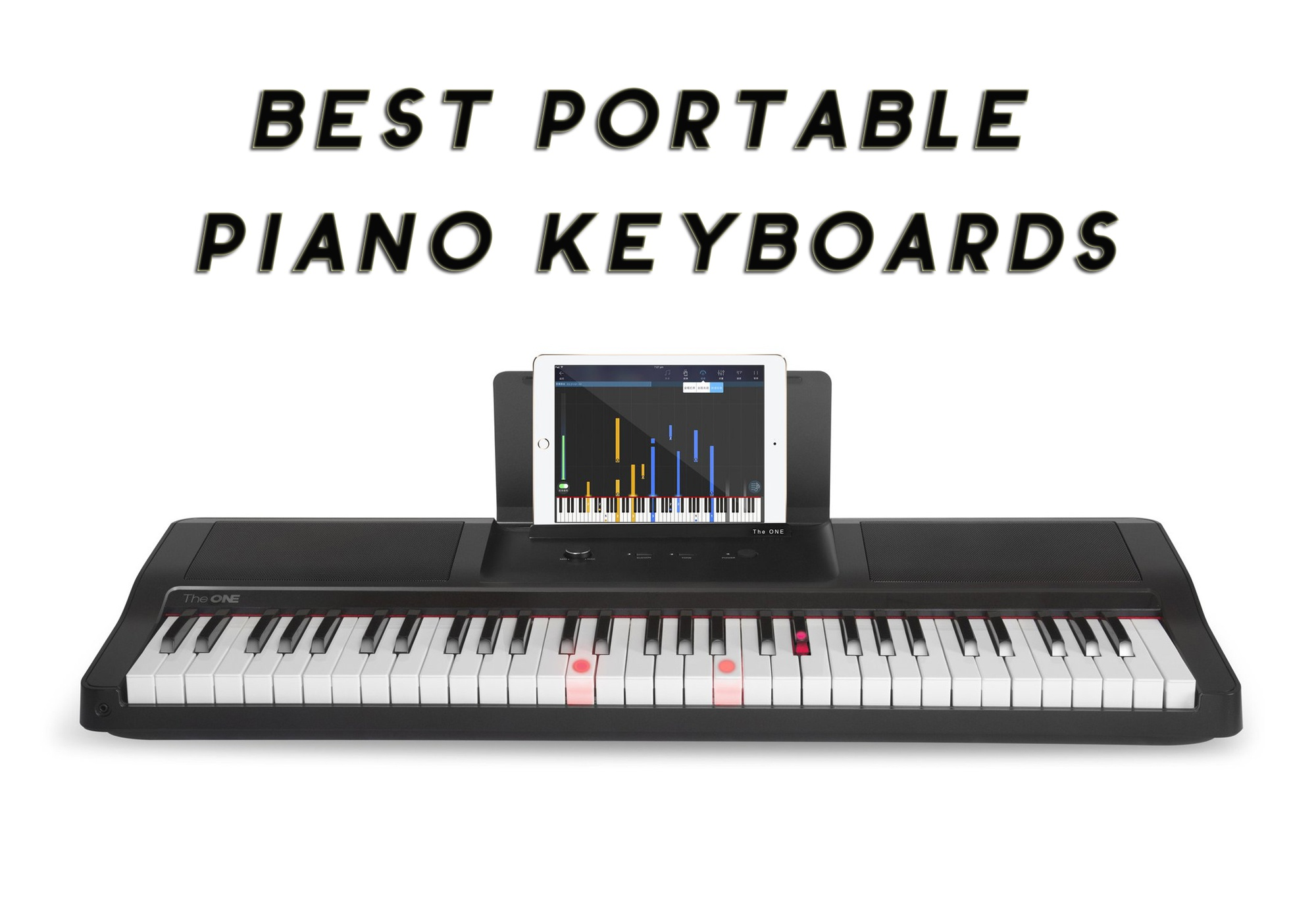 best partable piano keyboards