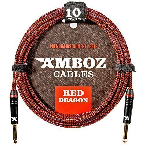 Red Dragon Guitar Cable